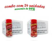 TEMPEROS P/ PIPOCA - Cx 24 FRASCOS - 12 PICANHA - 12 BACON