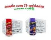 TEMPEROS P/ PIPOCA - Cx 24 FRASCOS - 12 PICANHA - 12 QUEIJO NACHO