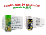 TEMPEROS P/ PIPOCA - Cx 24 FRASCOS - 12 PIMENTA E LIMÃO - 12 FLAVAPOP MANTEIGA