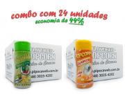 TEMPEROS P/ PIPOCA - Cx 24 FRASCOS - 12 PIMENTA E LIMÃO - 12 SAL POPCORN