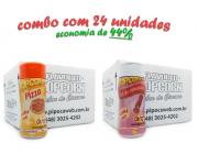 TEMPEROS P/ PIPOCA - Cx 24 FRASCOS - 12 PIZZA - 12 SAL DO HIMALAIA