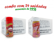 TEMPEROS P/ PIPOCA - Cx 24 FRASCOS - 12 PRESUNTO - 12 SAL DO HIMALAIA