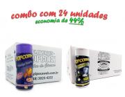 TEMPEROS P/ PIPOCA - Cx 24 FRASCOS - 12 QUEIJO NACHO - 12 FLAVAPOP MANTEIGA
