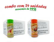 TEMPEROS P/ PIPOCA - Cx 24 FRASCOS - 12 TOMATE E QUEIJO - 12 FRANGO ASSADO
