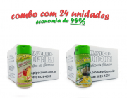 TEMPEROS P/ PIPOCA - Cx 24 FRASCOS - 12 TOMATE E QUEIJO - 12 PARMESÃO E ALHO