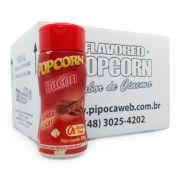 TEMPEROS P/ PIPOCA - SABOR BACON 100g - Caixa c/ 12 Frascos - Cada R$ 7,66 Un