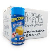 TEMPEROS P/ PIPOCA - SABOR MANTEIGA 100g (12 unidades)