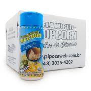 TEMPEROS P/ PIPOCA - CAIXA C/ 12 - SABOR PARMESÃO 100g
