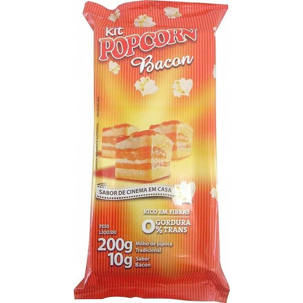 Mix Pipoca Salgada - sabor Bacon
