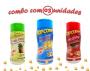 Combo Popcorn - 03 Sabores - 4 Queijos, Ervas Finas e Picanha