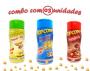 Combo Popcorn - 03 Sabores - 4 Queijos, Parmesão e Alho e Presunto