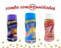 Combo Popcorn - 03 Sabores - 4 Queijos, Queijo Nacho e Sal do Himalaia