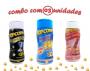 Combo Popcorn - 03 Sabores - 4 Queijos, Sal do Himalaia e Flavapop Manteiga