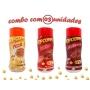 Combo Popcorn - 03 Sabores - Calabresa, Pizza e Bacon