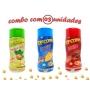 Combo Popcorn - 03 Sabores - Cebola e Salsa, Bacon e Queijo