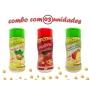 Combo Popcorn - 03 Sabores - Cebola e Salsa, Picanha e Tomate e Queijo