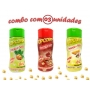 Combo Popcorn - 03 Sabores - Cebola e Salsa, Presunto, Parmesão e Alho