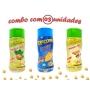 Combo Popcorn - 03 Sabores - Cebola e Salsa, Queijo e Parmesão e Alho