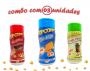 Combo Popcorn - 03 Sabores - Cheddar, Ervas Finas e Picanha
