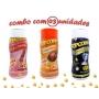 Combo Popcorn - 03 Sabores - Frango Assado, Sal do Himalaia e Flavapop Manteiga