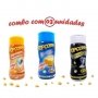 Combo Popcorn - 03 Sabores - Manteiga, Flavapop Manteiga e Sal Popcorn