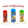 Combo Popcorn - 03 Sabores - Manteiga, Picanha e Tomate e Queijo