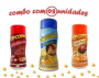 Combo Popcorn - 03 Sabores - Parmesão, Calabresa e Frango Assado