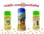 Combo Popcorn - 03 Sabores - Parmesão, Cebola e Salsa e Ervas Finas