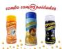 Combo Popcorn - 03 Sabores - Parmesão, Flavapop Manteiga e Sal Popcorn