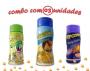 Combo Popcorn - 03 Sabores - Parmesão, Pimenta e Limão e Queijo Nacho