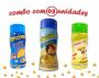 Combo Popcorn - 03 Sabores - Parmesão, Queijo e Parmesão e Alho