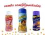 Combo Popcorn - 03 Sabores - Parmesão, Queijo Nacho e Sal do Himalaia