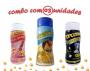 Combo Popcorn - 03 Sabores - Parmesão, Sal do Himalaia e Flavapop Manteiga