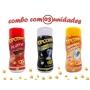 Combo Popcorn - 03 Sabores - Picanha, Flavapop Manteiga e Sal Popcorn