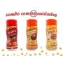 Combo Popcorn - 03 Sabores - Picanha, Frango Assado e Pizza