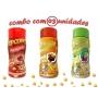 Combo Popcorn - 03 Sabores - Presunto, Molho Mexicano e Pimenta e Limão