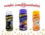 Combo Popcorn - 03 Sabores - Queijo Nacho, Flavapop Manteiga e Sal Popcorn