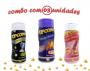 Combo Popcorn - 03 Sabores - Queijo Nacho, Sal do Himalaia e Flavapop Manteiga