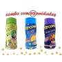 Combo Popcorn - 03 Sabores - Queijo, Pimenta e Limão e Queijo Nacho