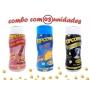 Combo Popcorn - 03 Sabores - Queijo, Sal do Himalaia e Flavapop Manteiga
