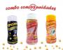 Combo Popcorn - 03 Sabores - Sal do Himalaia, Flavapop Manteiga e Sal Popcorn