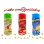 Combo Popcorn - 03 Sabores - Tomate e Queijo, Bacon e Queijo