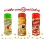 Combo Popcorn - 03 Sabores - Tomate e Queijo, Presunto e Molho Mexicano