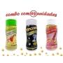 Combo Popcorn - 03 Sabores - Tomate e Queijo, Sal do Himalaia e Flavapop Manteiga