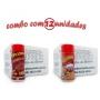 TEMPEROS P/ PIPOCA - Cx 12 FRASCOS - 6 CALABRESA - 6 PRESUNTO