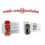 TEMPEROS P/ PIPOCA - Cx 12 FRASCOS - 6 PICANHA - 6 FLAVAPOP MANTEIGA