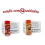TEMPEROS P/ PIPOCA - Cx 12 FRASCOS - 6 PICANHA - 6 FRANGO ASSADO