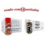 TEMPEROS P/ PIPOCA - Cx 12 FRASCOS - 6 PRESUNTO -  6 FLAVAPOP MANTEIGA