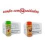 TEMPEROS P/ PIPOCA - Cx 12 FRASCOS - 6 TOMATE E QUEIJO - 6 FRANGO ASSADO