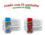 TEMPEROS P/ PIPOCA - Cx 24 FRASCOS - 12 4 QUEIJOS  - 12 CALABRESA